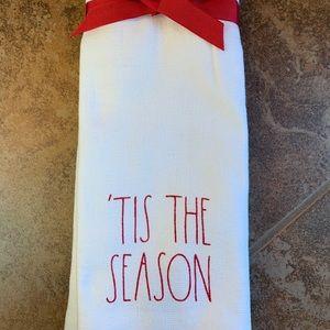 Rae Dunn Christmas Hand towels